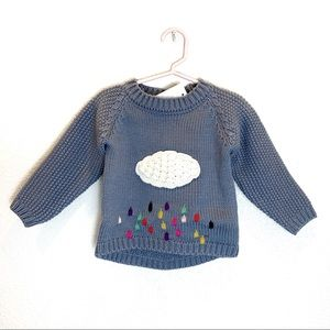 Toddler Kids Cloud Sweater - GRAY
